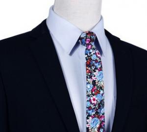 cravate-etroite-motif-floral2